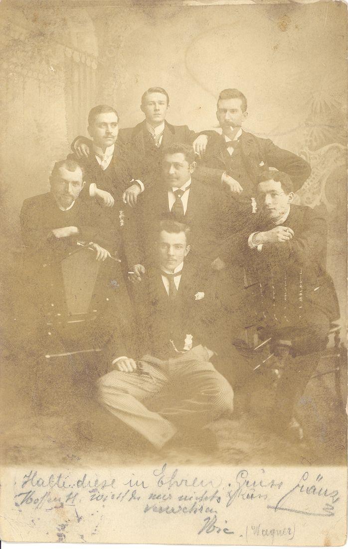 7 Studenten um 1902