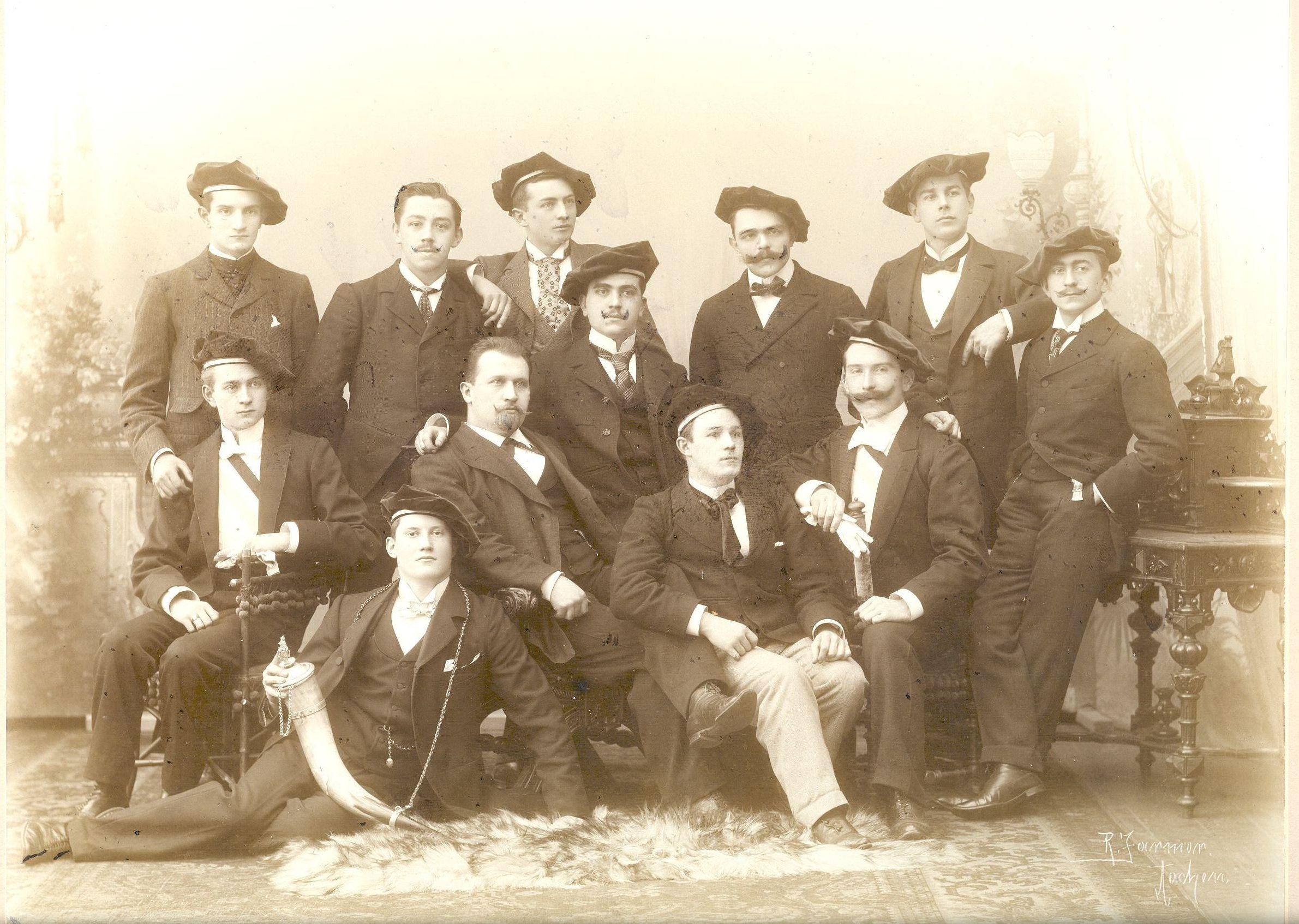 AV d'Letzeburger im Wintersemester 1900/01