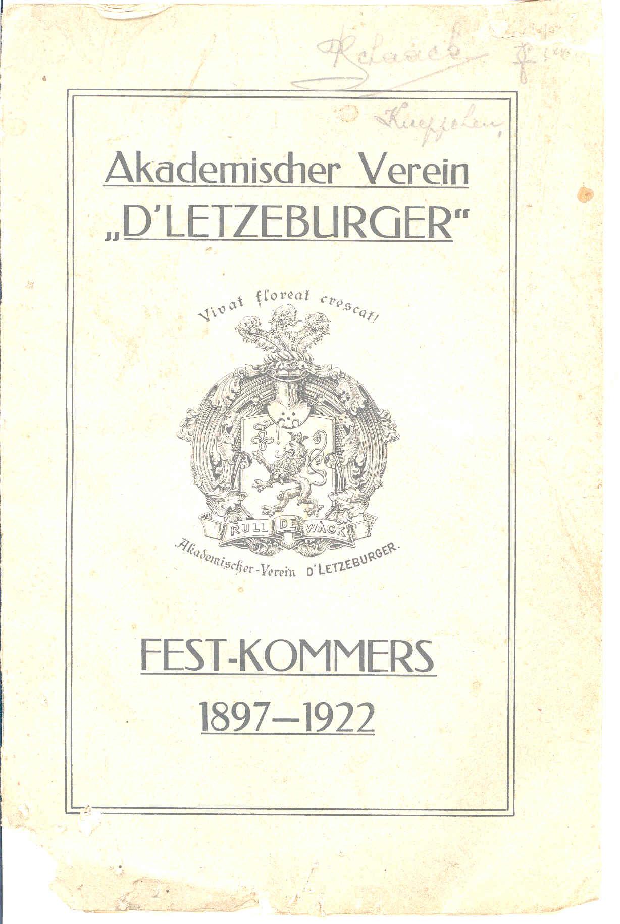 festkommers-1922