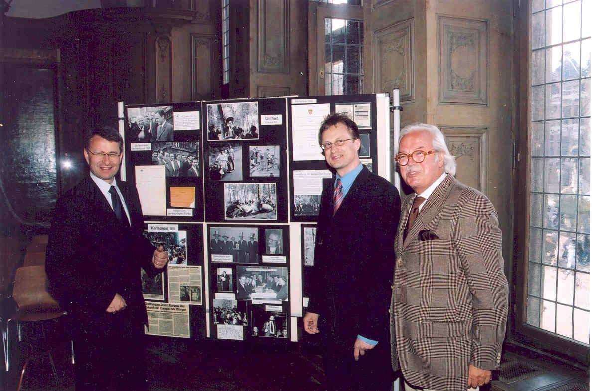Die Fotoaustellung von 1997 im Aachener Rathaus
