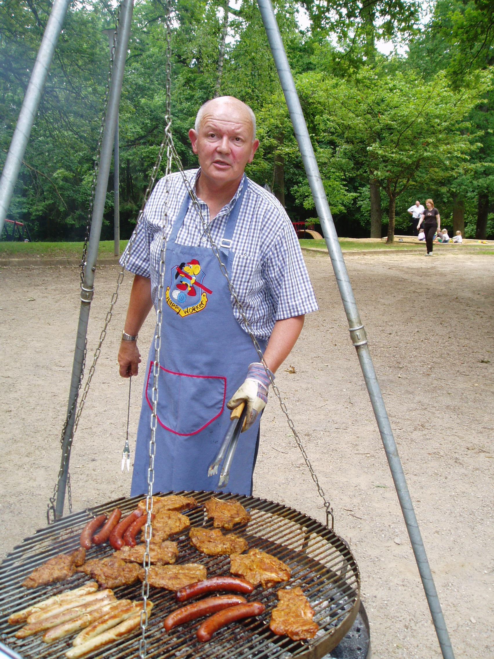 De Jang Feyereisen um Grill