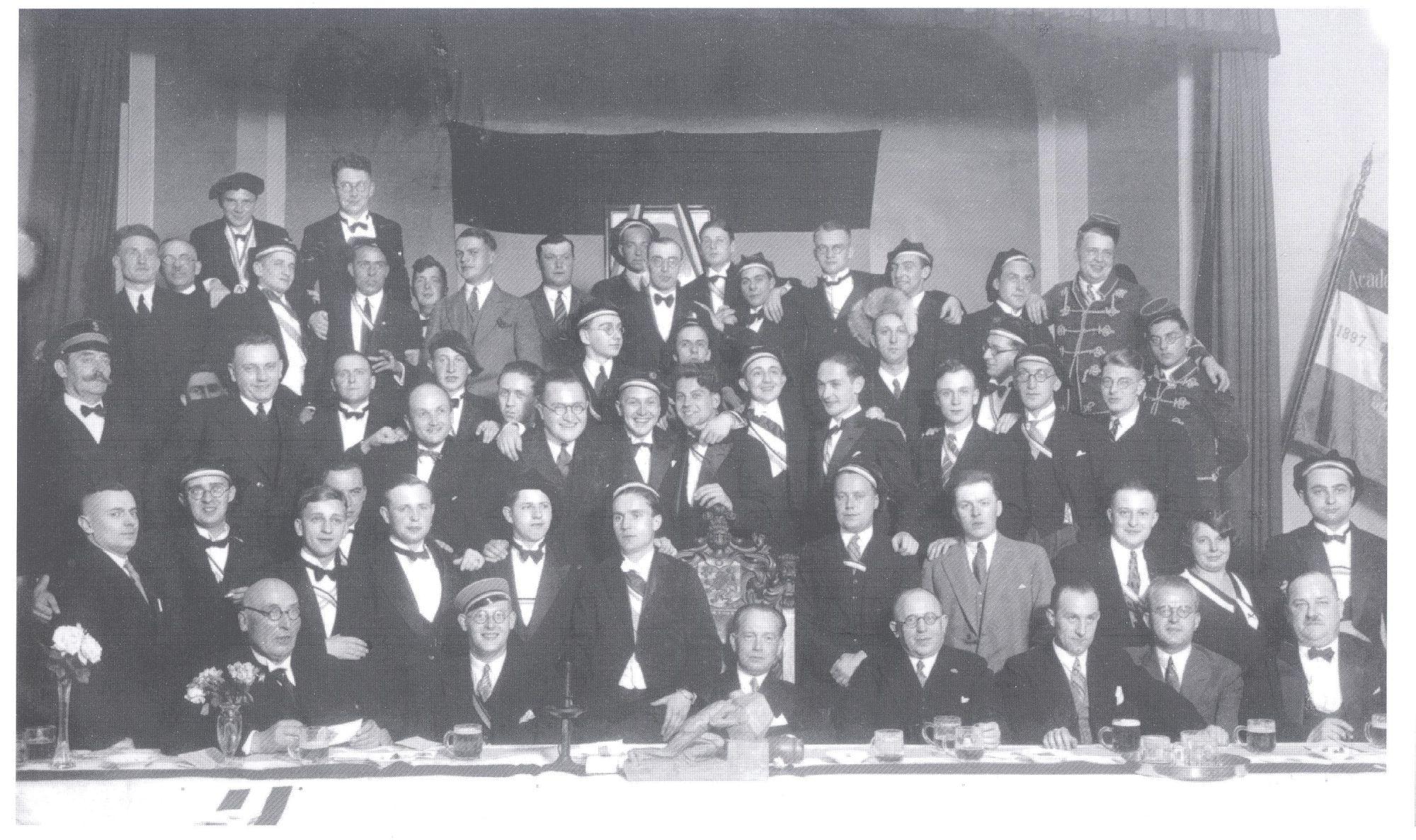 Beim Stiftungsfest 1932