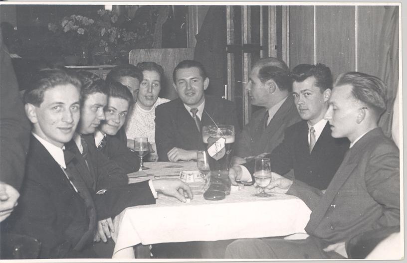 beim Strulles anlässlich 25 Jahre Limburger Hof, 1955