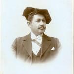 Portrait von Jean Nicolas Raus um 1901