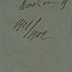 Léon Laval L! xxx s/l Camille Keiffer L! zur fr. Erg. Aachen W/S 1901/1902