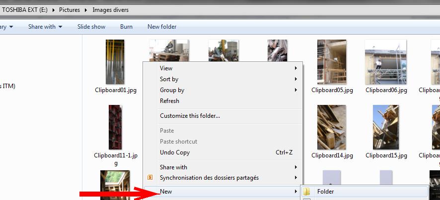 Windows-create-new-folder