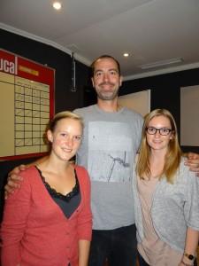 Caroline, KC a Sophie