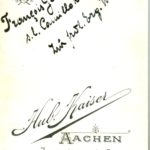François Geib al. Klûck s/l Camille Keiffer al. Comper Zur frdl Erg. W.S. 1902-03