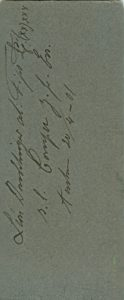 Léon Dondelinger al. Fips L! (xx)xxx s/l Comper z. frdl. Erg. Aachen 24/04- 01