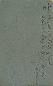 Emile Mersch al. Kluôf L! s/l Cam. Keiffer al. Comper L! zr. frd. Erg. W.S. 1901-02