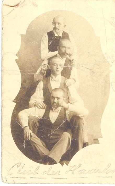 Der Club der Haarlosen 1902