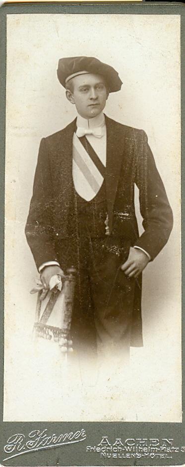 Victor Mersch im WS 1900/01