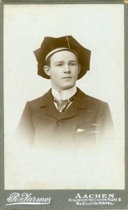 Portrait von Gust Prüssen