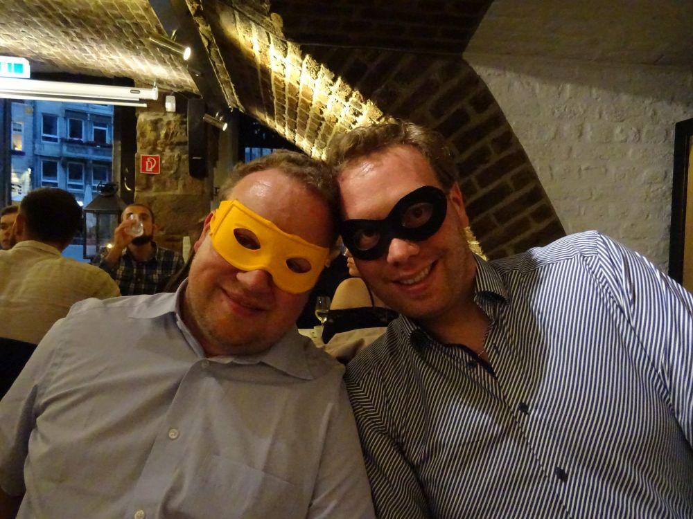 Maskéierung wor ugesot!